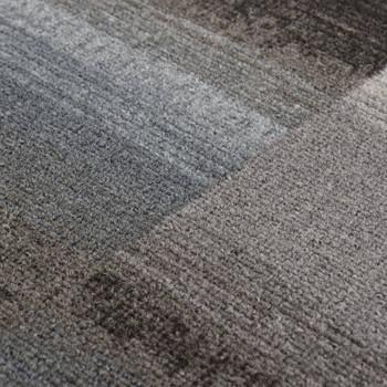 vidaXL Dugi tepih s gelastom podlogom crni 67 x 400 cm