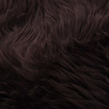 vidaXL Tepih od ovčje kože 60 x 180 cm smeđi