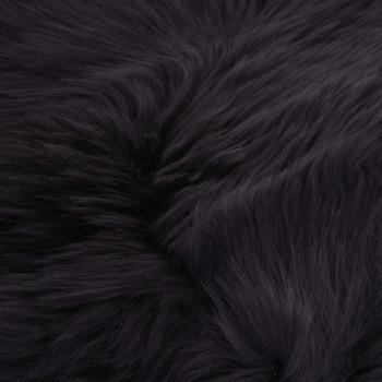 vidaXL Tepih od ovčje kože 60 x 180 cm tamnosivi