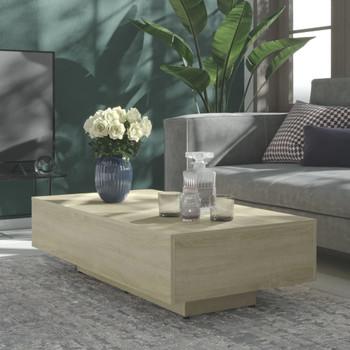 vidaXL Stolić za kavu boja hrasta sonome 115 x 60 x 31 cm od iverice