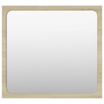 vidaXL Kupaonsko ogledalo boja hrasta sonome 40x1,5x37 cm od iverice