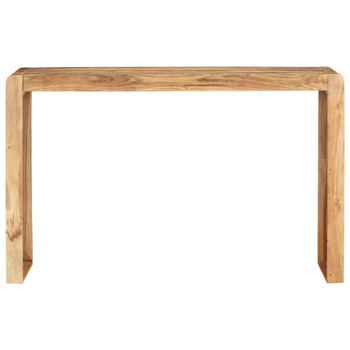 vidaXL Konzolni stol 120 x 30 x 76 cm od masivnog bagremovog drva