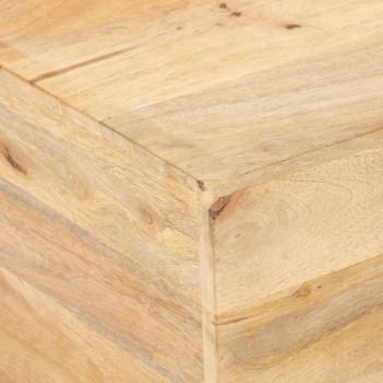 vidaXL Stolić za kavu V-oblika 66 x 66 x 30 cm od masivnog drva manga