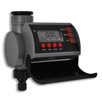 vidaXL Vrtni tajmer za vodu s jednim izlazom i razdjelnikom vode