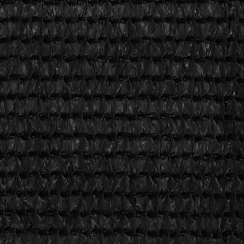 vidaXL Tepih za šator 200 x 400 cm crni