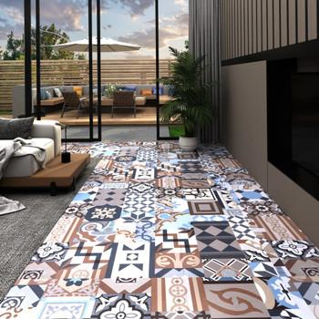vidaXL Samoljepljive podne obloge 20 kom PVC 1,86 m² mono uzorak