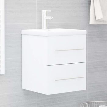 vidaXL Ormarić za umivaonik bijeli 41 x 38,5 x 48 cm od iverice