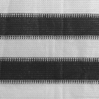 vidaXL Tepih za šator 250 x 600 cm antracit-bijeli