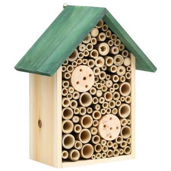 vidaXL Kućice za insekte 2 kom 23 x 14 x 29 cm od masivne jelovine