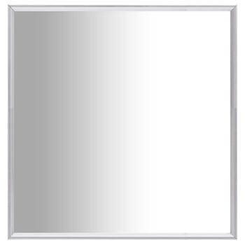 vidaXL Ogledalo srebrno 60 x 60 cm