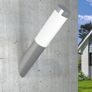 vidaXL Zidna vodootporna svjetiljka od nehrđajućeg čelika 60 W