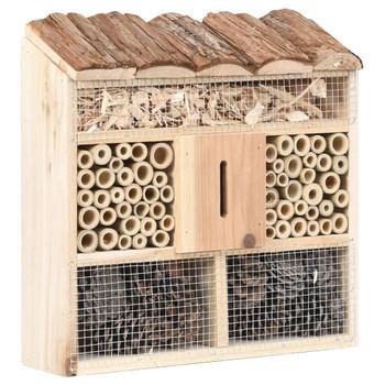 vidaXL Kućica za insekte 30 x 10 x 30 cm od jelovine