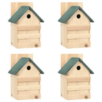 vidaXL Kućice za ptice 4 kom 23 x 19 x 33 cm od jelovine