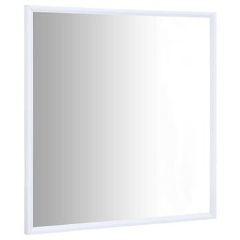 vidaXL Ogledalo bijelo 50 x 50 cm