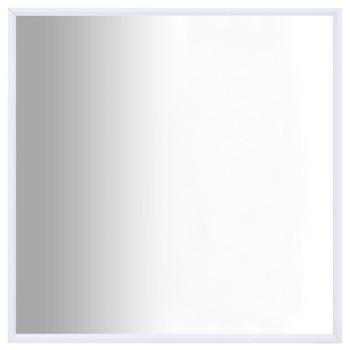 vidaXL Ogledalo bijelo 60 x 60 cm