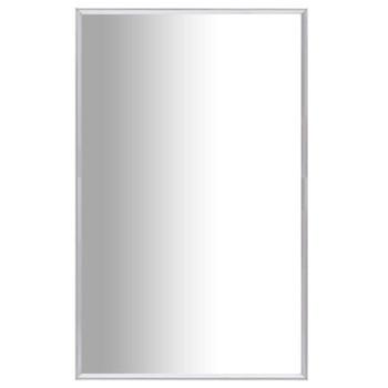 vidaXL Ogledalo srebrno 70 x 50 cm