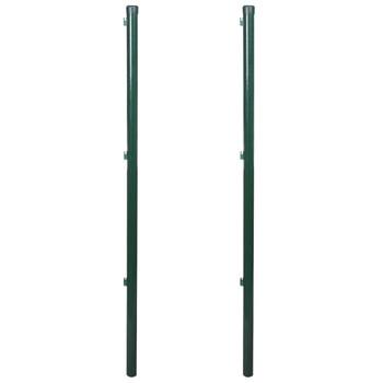 vidaXL Stupovi za ogradu 2 kom 115 cm