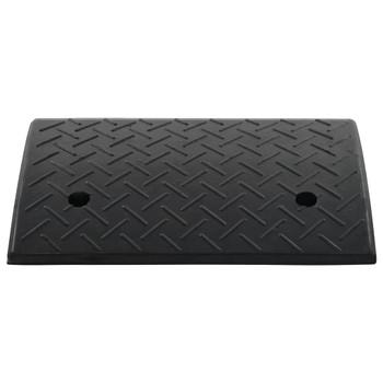 vidaXL Rampa za rubnik od gume 50 x 32,5 x 14 cm