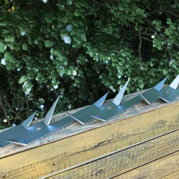 vidaXL Zidni šiljci 25 kom čelični 1 m
