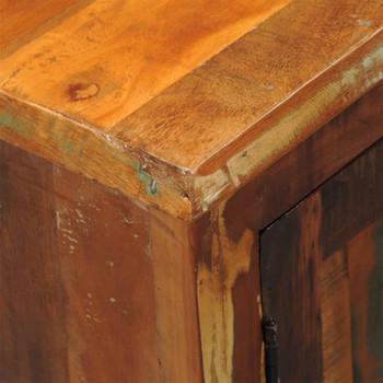 vidaXL Ormarić od masivnog obnovljenog drva s 2 vrata starinski