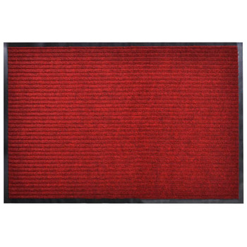 Crveni otirač protiv klizanja za vrata 90 x 120 cm