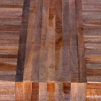 vidaXL Stol od Obnovljene Tikovine
