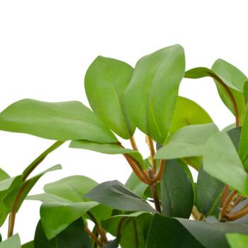 vidaXL Umjetno stablo lovora s posudom zeleno 40 cm