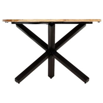 vidaXL Blagovaonski stol okrugli 120 x 76 cm od masivnog drva manga