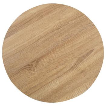 vidaXL Bistro stol svjetlosmeđi 60 cm MDF