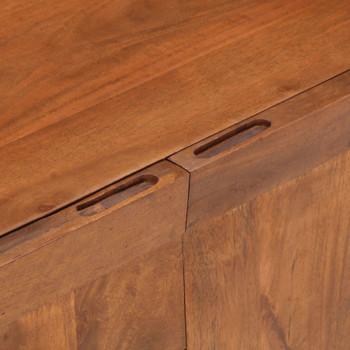 vidaXL Komoda od masivnog drva manga 115 x 35 x 56 cm
