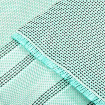 vidaXL Tepih za šator 500 x 300 cm zeleni