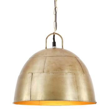 vidaXL Industrijska viseća svjetiljka 25 W mjedena okrugla 31 cm E27