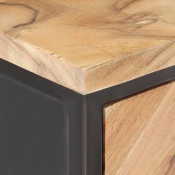 vidaXL Komoda od masivnog bagremovog drva 60 x 35 x 70 cm