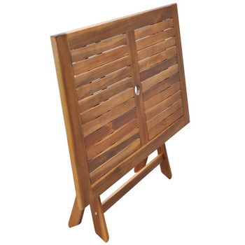 vidaXL Vrtni stol od masivnog bagremovog drva 120 x 70 x 75 cm