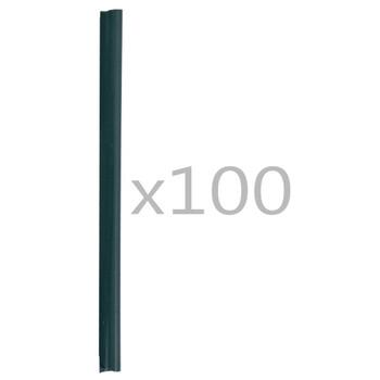 vidaXL Spojnice za ogradu 100 kom PVC zelene