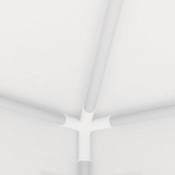 vidaXL Šator za zabave s 4 mrežasta bočna zida 2 x 2 m bijeli
