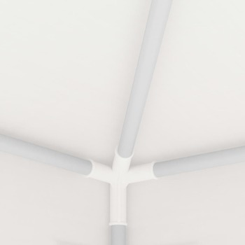 vidaXL Šator za zabave s 4 mrežasta bočna zida 4 x 4 m bijeli