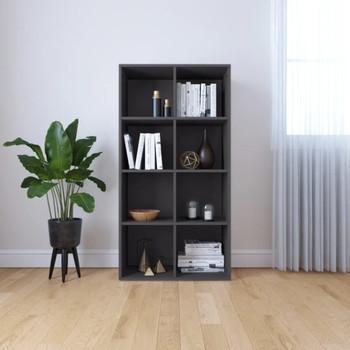vidaXL Ormarić za knjige / komoda siva 66 x 30 x 130 cm od iverice