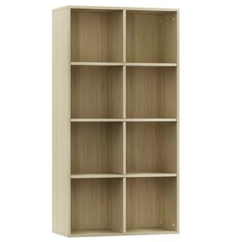 vidaXL Ormarić za knjige / komoda boja hrasta 66 x 30 x 130 cm iverica