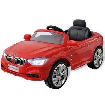 BMW Autić za Djecu s Baterijom i Daljinskim Upravljačem Crveni