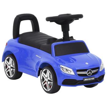 vidaXL Dječji automobil Mercedes Benz C63 plavi
