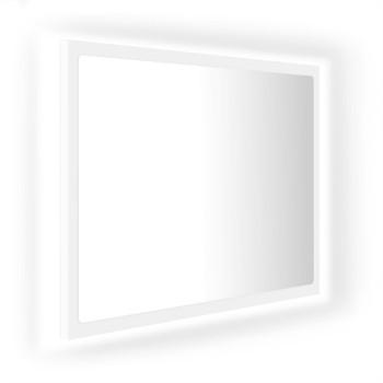 vidaXL LED kupaonsko ogledalo bijelo 60 x 8,5 x 37 cm od iverice