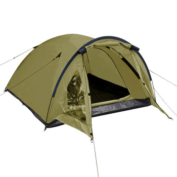 vidaXL Šator za 3 osobe zeleni