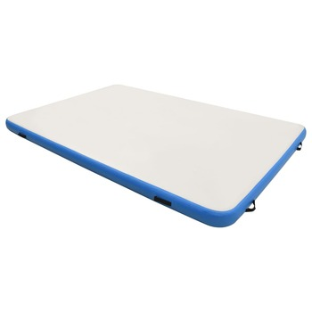 vidaXL Plutajuća platforma na napuhavanje plavo-bijela 300x200x15 cm