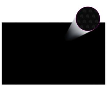 vidaXL Pravokutni pokrivač za bazen 500 x 300 cm PE crni
