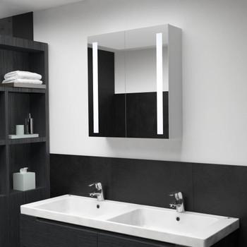 vidaXL LED kupaonski ormarić s ogledalom 60 x 14 x 62 cm