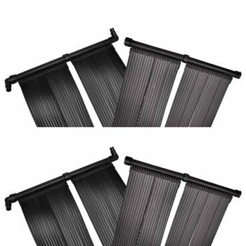 vidaXL Solarne ploče za grijanje bazena 4 kom 80 x 620 cm