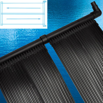 vidaXL Solarne ploče za grijanje bazena 6 kom 80 x 620 cm