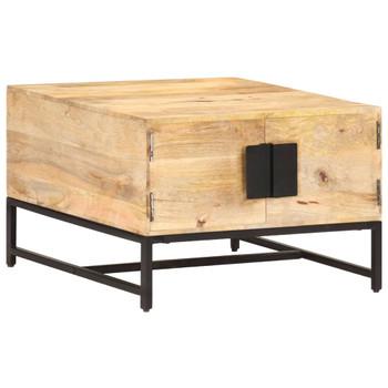 vidaXL Stolić za kavu 67 x 67 x 45 cm od masivnog drva manga