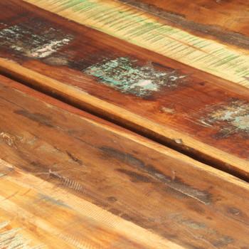 vidaXL Stolić za kavu 142 x 90 x 42 cm od masivnog obnovljenog drva